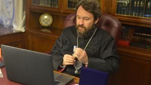 Многолетний сотрудник Отдела внешних церковных связей Б.А. Нелюбов награжден медалью святителя Марка Эфесского (I степени)