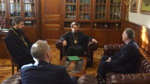 Председатель ОВЦС встретился с новоназначенным послом России в Боснии и Герцеговине