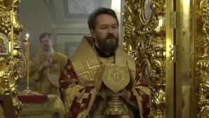 Митрополит Иларион: Мы ожидаем пришествие Господа как духовную весну, которое приведет нас к лету Царствия Божия