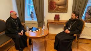 Συνάντηση του Μητροπολίτη Βολοκολάμσκ Ιλαρίωνα με τον Αποστολικό Νούντσιο στη Ρωσική Ομοσπονδία