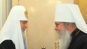 Entretien téléphonique du patriarche Cyrille avec le primat de l'Église orthodoxe en Amérique