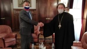 Епископ Аргентинский и Южноамериканский Леонид встретился с послом России в Аргентине