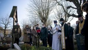 Митрополит Корсунский и Западноевропейский Антоний совершил литию на могиле протоиерея Михаила Осоргина