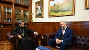 Председатель ОВЦС встретился с руководителем Россотрудничества Е.А. Примаковым