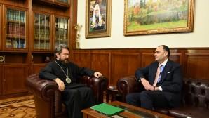 Председатель ОВЦС встретился с послом Армении в России