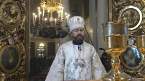 Metropolitan Hilarion: The Lord has imbued the waters of Jordan with his divine presence to wash away human sins