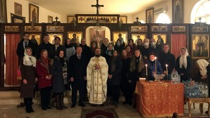 Εορτασμός των Θεοφανείων στο Γραφείο της Ρωσικής Ορθοδόξου Εκκλησίας στη Δαμασκό