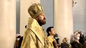 Митрополит Иларион: Родословная нашего Спасителя свидетельствует о том, что Иисус Христос – Сын рода человеческого
